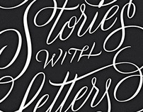 Telling Stories with Letters