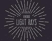 Vintage Light Rays Tutorial