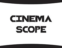 Cinema Scope Typeface