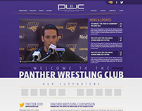 Panther Wrestling Club Site Design
