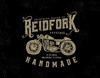 Reidfork Typeface with Bonus + Textpress