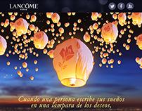 La Lámpara de los deseos Lancôme