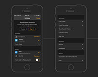 SoundHound Settings Designed & Organized iOS6/7