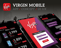 Virgin Mobile Mx | App Concept