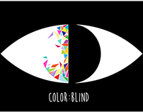 Color:Blind Logo Design