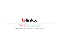 blinkx style guide project