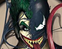 Veker - Venom + Joker by Jeremy Legendre