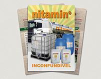 Folheto Nitamin - Agrichem do Brasil