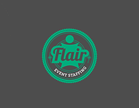 Flair Event Staffing Logo (Concept)