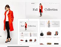 Clean E-Commerce PSD Theme