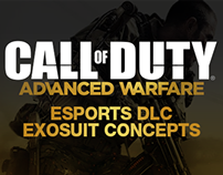 Call of Duty ESports Exosuit Concepts