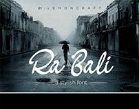 Ra Bali – Free Font