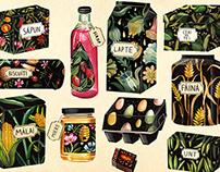 Packaging Illustrations