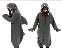 shark animal onesies