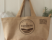 Forsyth Farmers' Market | Icon System; Logo Refresh