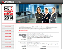 XChange Event - Registration Page