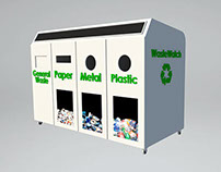 WasteWatch Bin Product Design