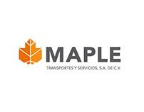 Identidad de empresa Maple / New identity: Maple
