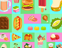 Noms Food Icons