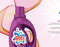 Ariel Laundry Detergent Sales Sheets