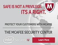 McAfee Banner Ads