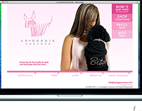 WEBSITE DESIGN - LE DOGGIE COUTURE