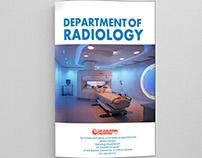 Brochure Design for Dr.Ziauddin Radiology Dept.