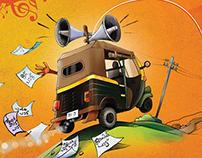 Illustration for Radio mango