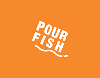 """Pour Fish"" Conservation Mobile App Interface Design"