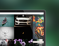 Instagram Desktop Profile Interface