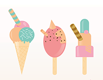 Funny ice-cream