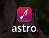 Astro app Icon and Web Site