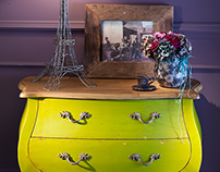 French showroom interiors and accessories