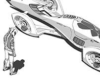 Ferrari 2100, Electric Rocket Hybrid