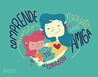 IMITA · Vídeo animado para día de las madres