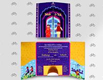 Wedding Invite Print Design