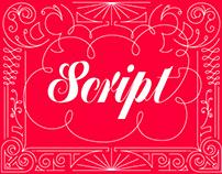 Script Lettering Type