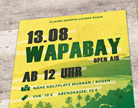 "Print Design for ""Wapabay Festival"""