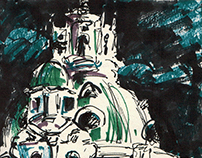 Sketches from Rome, 2016