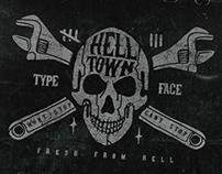 Helltown Free Font