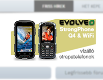 EVOLVEO - banners - Hungarian retailers