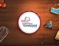 WILLIAMS CANDY LAND WEB DESIGN, UI/UX, CONCEPT