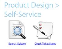 Product Design, Self-Service