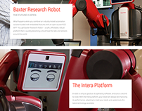 Rethink Robotics | Responsive Website Redesign