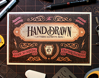 Hand Drawn Lettering Elements Pack