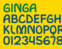 GINGA — Custom Typeface for The 2014 FIFA World Cup