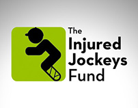 The Injured Jockeys Fund Identity.