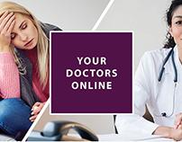 YourDoctors.Online (Branding/UX)