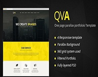 QVA - One Page Multi-purpose WordPress Theme