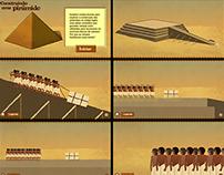Infográfico - Construindo uma pirâmide